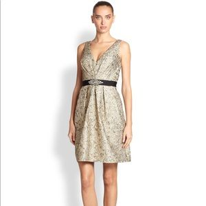 🌟AIDAN MATTOCK METALLIC DRESS SZ10